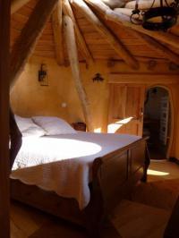 Chambre d'Hôtes Saint Crépin et Carlucet Cabane-hobbit de Samsaget