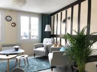 Appart Hotel Fontaine la Mallet Appart Hotel appartement le Baudelaire