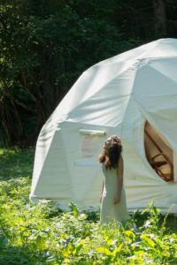 Terrain de Camping Montréal la Cluse Sweetdome
