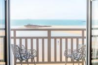 Résidence de Vacances Saint Malo Résidence de Vacances Appartement de Luxe Le Grand Sillon Vue sur Mer - Le Deck