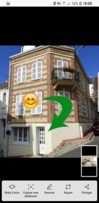 Appart Hotel Basse Normandie Appart Hotel Grand studio de 40m2 à 2 min de la plage