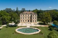 Hôtel Saint Pons la Calm hôtel Château de Montcaud