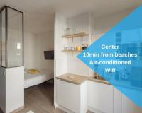 Hôtel Nice hôtel Nicelidays - Le Berlioz - city central - 7min beaches