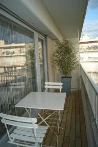 Résidence de Vacances Champagne Ardenne Résidence de Vacances Studio près centre avec balcon, linge et ménage