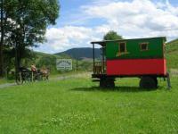 Terrain de Camping Jullié L'authentique roulotte