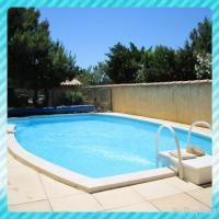 gite Leucate Maison avec piscine privée