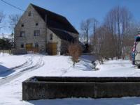 Terrain de Camping La Chapelle Marcousse Gîte Rural - Grange des Pres Blancs chaîne des puys