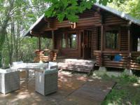 Terrain de Camping Indre et Loire Chalet finlandais