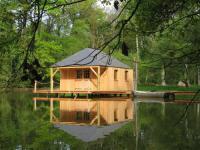 Terrain de Camping Mayenne Les Ecolodges