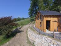 Terrain de Camping Pau cabane vigneronne