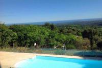 gite Cannes Tourrettes-sur-Loup Villa Sleeps 10 Pool