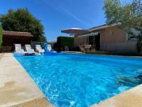 gite Lacanau Maison avec piscine chauffée