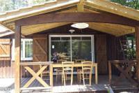 Terrain de Camping Arcachon Chalet 6 personnes Forges