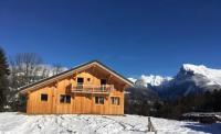 gite Chamonix Mont Blanc Chalet Le mas devant