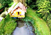 gite Laferté sur Amance Chalet entre deux étangs