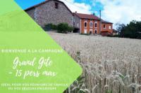 gite Villemontais Grand Gite Maison d Alice Auvergne - 15 personnes