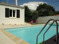 gite Saint Sulpice de Royan House Saint palais sur mer - maison avec piscine privée - internet