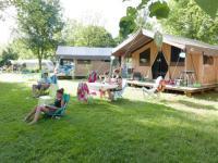 Terrain de Camping Liesle Huttopia La Plage Blanche