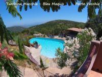 Gîte Corse Gîte Villa et Piscine Privée Vue Mer Panoramique extrèmement calme 2 à 6 personnes