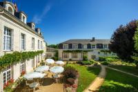 Hôtel Noyant la Plaine hôtel Logis Domaine De La Blairie
