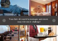 Hotel de charme Prads Haute Bléone Chalet hôtel de charme Les Blancs