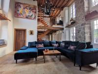 gite Courson Luxury cottage with a jacuzzi - River view - La Vieille Dame