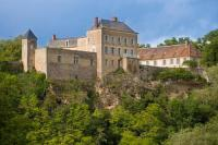 gite Pierre Perthuis Mailly-le-Chateau Chateau Sleeps 40 Pool Air Con