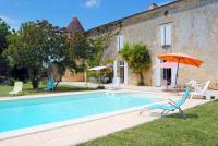 gite Ars Villars-en-Pons Chateau Sleeps 14 Pool WiFi