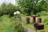 Terrain de Camping Sarthe Loire Valley Llama Farm Stay