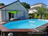 Chambre d'Hôtes Besançon Loue 2 chambres privees dans maison avec piscine