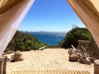Terrain de Camping Corse Ecolodge de Cala