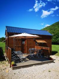 Terrain de Camping Franche Comté Tiny house gîte insolite