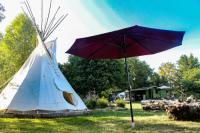 Terrain de Camping Bourgogne Tipi / Nature / Détente