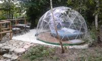 Terrain de Camping Limoges bulle sous les etoiles