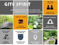 Terrain de Camping Centre Spirit