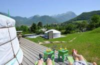 Terrain de Camping Rhône Alpes Yourtes Olachat proche Annecy