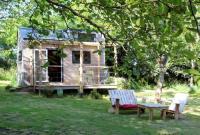 Terrain de Camping Coray Tiny House éco-construite