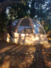 Terrain de Camping Roaix nuit étoilée