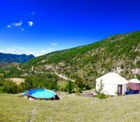 Terrain de Camping Roaix Les Carlines du Grand Bois