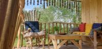 Terrain de Camping Aix en Provence LA CABANE PERCHEE