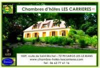 Chambre d'Hôtes Connerré CHAMBRES D'HOTES LES CARRIERES