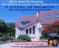 Gîte Monhoudou GITE DU CHESN'ART