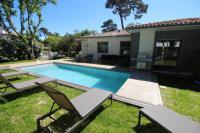 gite Gujan Mestras Belle Villa pour 11 personnes avec piscine chauffée