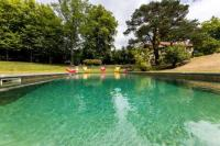 gite Boucau LES ECURIES KEYWEEK villa with swimming pool in wooded park Biarritz