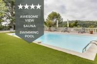 gite Peymeinade OUTSTANDING - BIOT - Splendid villa with heated swimming pool et sauna!