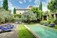 gite Cairanne Caromb Villa Sleeps 12 Pool Air Con WiFi