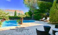 gite Cabriès Villa Cassis Vue Mer et Cap Canille panoramique