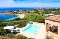 gite Lumio Corbara Villa Sleeps 8 Pool Air Con WiFi