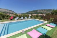 Gîte Ariège Gîte Villa with 4 bedrooms in Foix with wonderful mountain view private pool enclosed garden