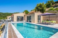 gite Lorgues Luxury contemporary villa with a sublime view on the sea - Welkeys